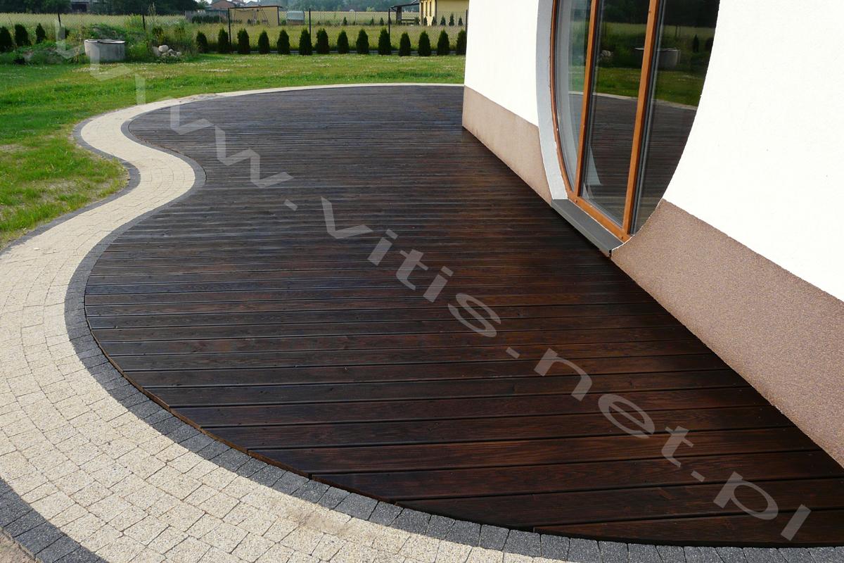 Tarasy drewniane lublin