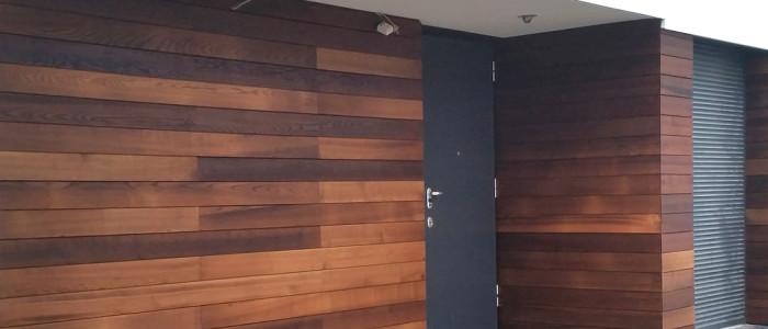 Elewacja VITIS z thermo-drewna